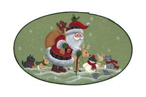 Santa and Friends by Beverly Johnston