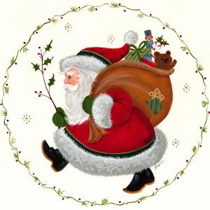 Santa and Toy Sack by Beverly Johnston