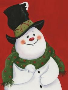 Snowman Mischief by Beverly Johnston