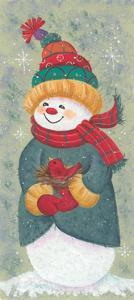Snowman by Beverly Johnston
