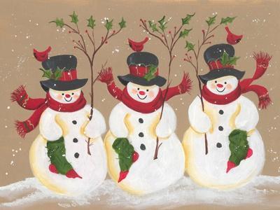 Trio of Snowmen
