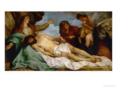 Bewailing of Christ, 1634-35-Sir Anthony Van Dyck-Giclee Print