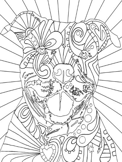 Beware CB-Dean Russo-Giclee Print