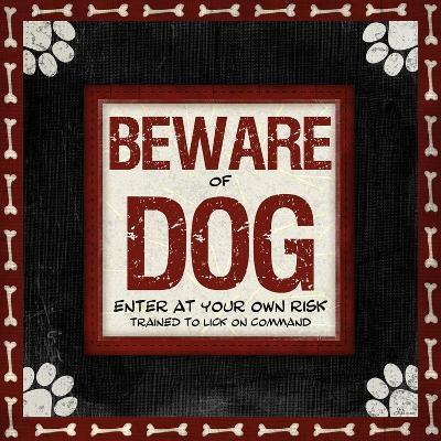 Beware of Dog-Jennifer Pugh-Art Print