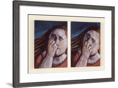 Bewildered Head no 1, 2008-Evelyn Williams-Framed Giclee Print