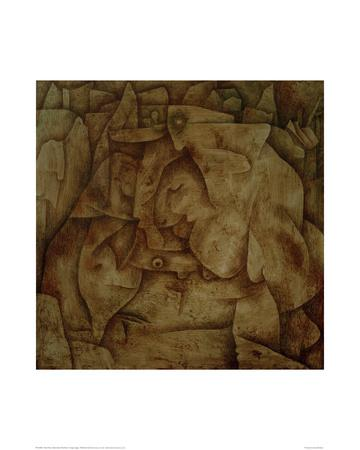 Bewitched Petrified-Paul Klee-Giclee Print