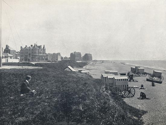 'Bexhill - The Hotels and the Beach', 1895-Unknown-Photographic Print