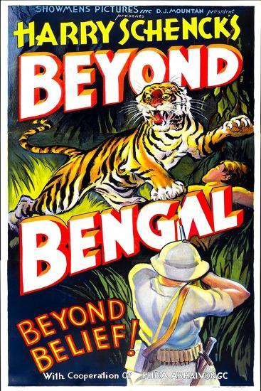 Beyond Bengal, 1934--Art Print