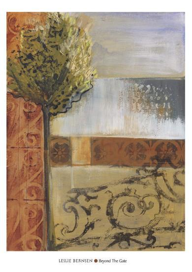 Beyond the Gate-Leslie Bernsen-Art Print