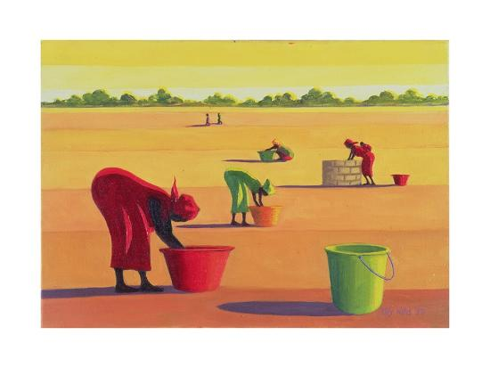Beyond the Pale, 1998-Tilly Willis-Giclee Print