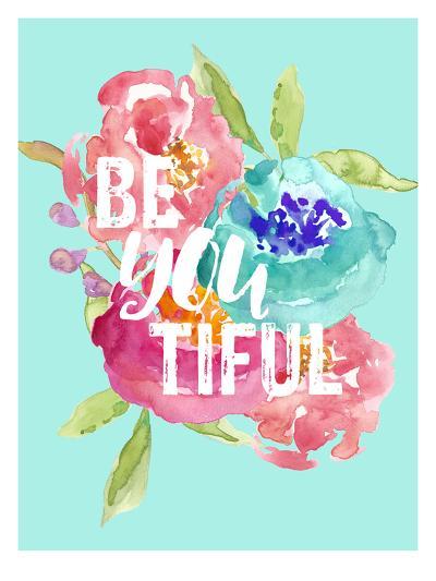 Beyoutiful Floral-Amy Brinkman-Art Print