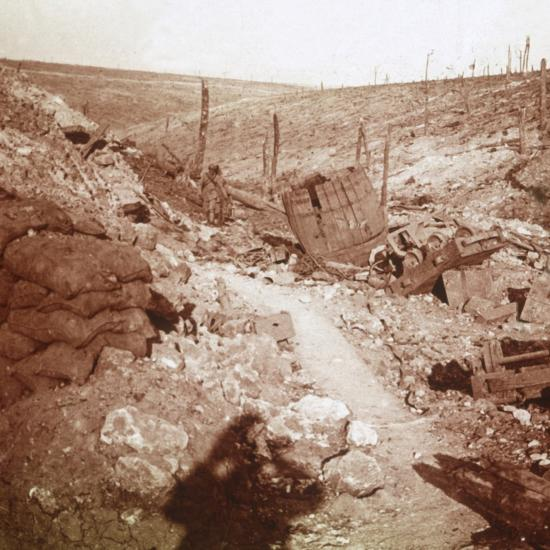 Bezonvaux, Verdun, northern France, c1914-c1918-Unknown-Photographic Print