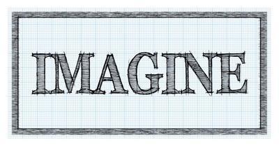 Sketched Words - Imagine