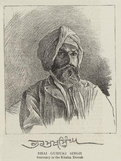 Bhai Gumuki Singh--Giclee Print