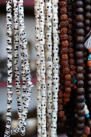 Buddhist Prayer Beads, Dharamsala, Himachal Pradesh, India, Asia