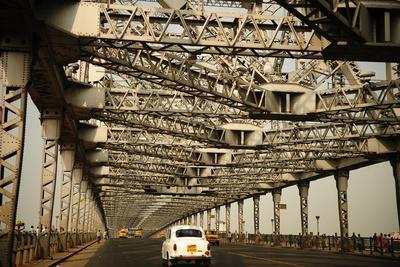 Howrah Bridge, Kolkata, West Bengal, India, Asia