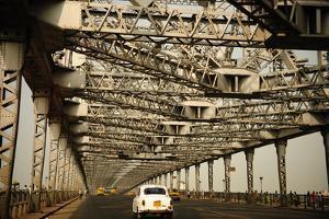 Howrah Bridge, Kolkata, West Bengal, India, Asia by Bhaskar Krishnamurthy