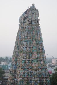 Tower of Kumbakonam Temple, Kumbakonam, Tamil Nadu, India, Asia by Bhaskar Krishnamurthy