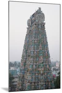 Tower of Kumbakonam Temple, Kumbakonam, Tamil Nadu, India, Asia by Bhaskar Krishnamurthy