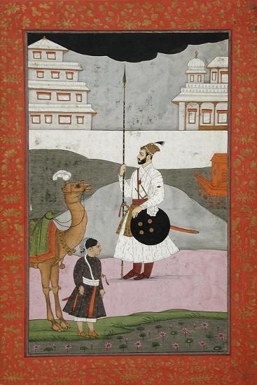 Bhopali Ragini, Folio from a Ragamala (Garland of Melodies)--Art Print