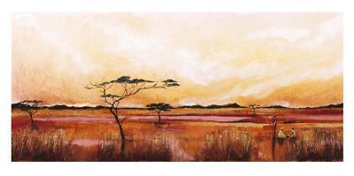 Bhundu Landscape IV-Emilie Gerard-Art Print