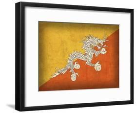 Bhutan-David Bowman-Framed Giclee Print