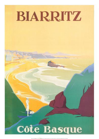 Biarritz-Debo-Art Print