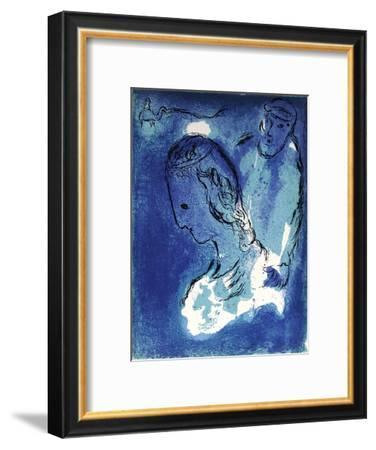 Bible: Abraham et Sarah-Marc Chagall-Framed Premium Edition