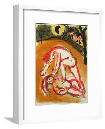 Bible: Cain et Abel-Marc Chagall-Framed Premium Edition