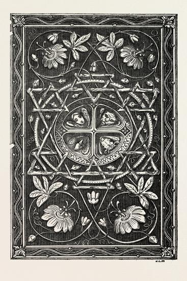 Bible Cover, in Metal, Harp Alley, 1851--Giclee Print