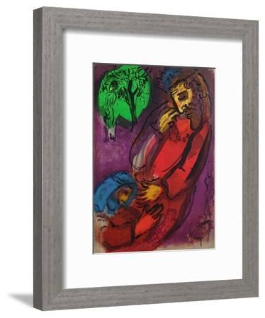 Bible: David et Absalon-Marc Chagall-Framed Premium Edition