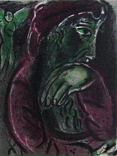 Bible: Job Desespere-Marc Chagall-Premium Edition