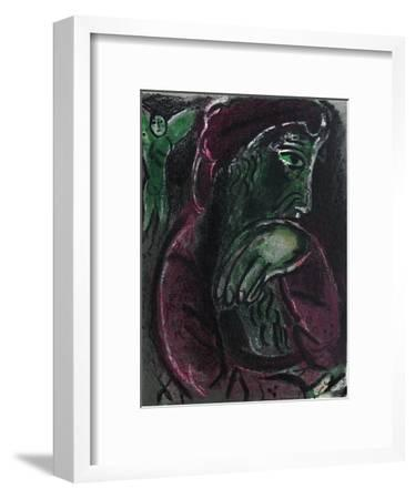 Bible: Job Desespere-Marc Chagall-Framed Premium Edition
