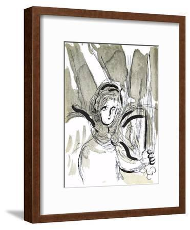 Bible: Lange a Lepee-Marc Chagall-Framed Premium Edition