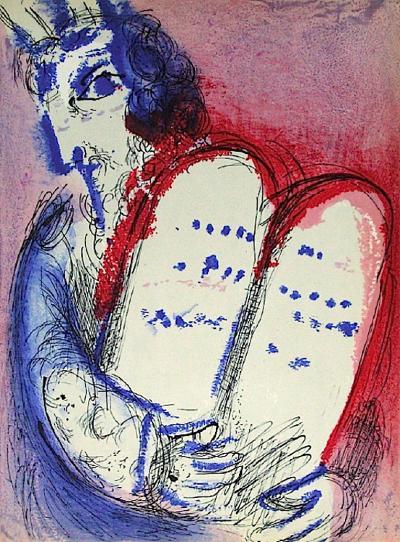 Bible: Moise III-Marc Chagall-Premium Edition