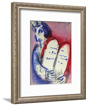 Bible: Moise III-Marc Chagall-Framed Premium Edition