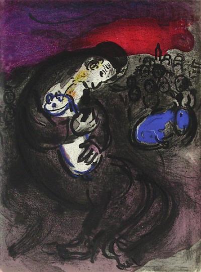 Bible: Pleurs de Jeremie-Marc Chagall-Premium Edition