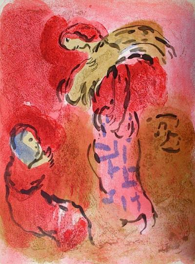 Bible: Ruth Glaneuse-Marc Chagall-Premium Edition