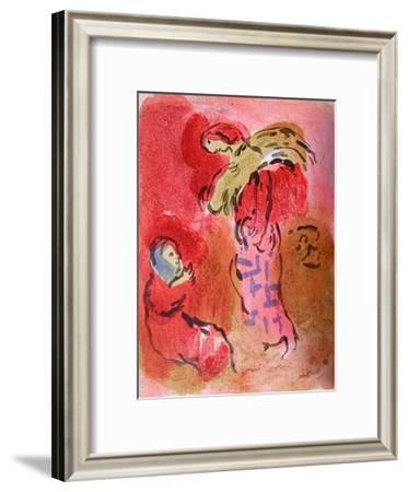 Bible: Ruth Glaneuse-Marc Chagall-Framed Premium Edition
