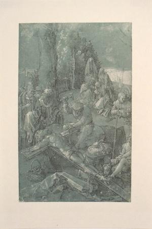 Biblical scene-Albrecht Durer-Lithograph