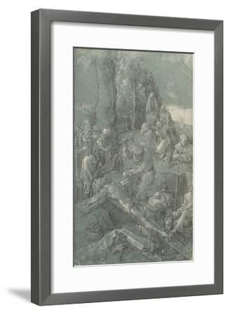 Biblical scene-Albrecht Durer-Framed Lithograph