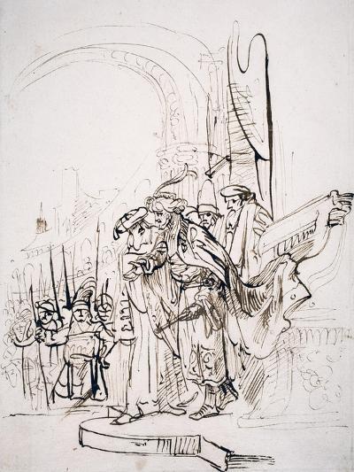 Biblical Scene-Gerbrandt Van Den Eeckhout-Giclee Print