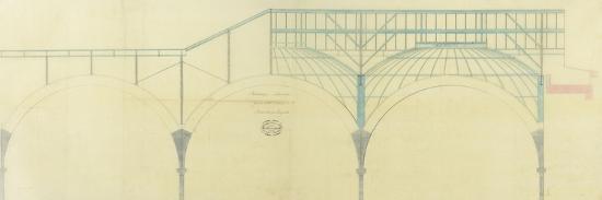 Bibliothèque Nationale, salle de lecture, ensemble des coupoles-et Baudet Leturc-Giclee Print