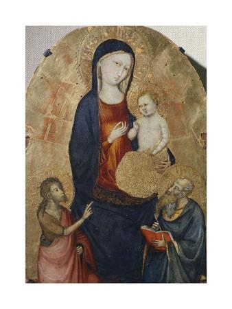 Madonna with Child and Saints John the Baptist and John the Evangelist