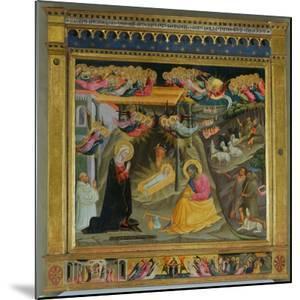 Nativity by Bicci di Lorenzo