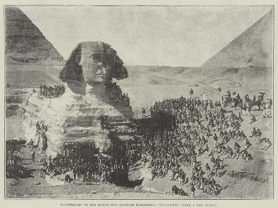 Bicentenary of the King's Own Scottish Borderers, the Sphinx under a New Aspect--Giclee Print