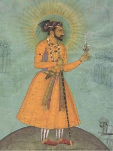 Jujhar Singh Bundela Kneels in Submission to Shah Jahan', 1630 by Bichitr Bichitr