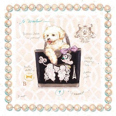 Bichon Puppy Purse-Chad Barrett-Art Print