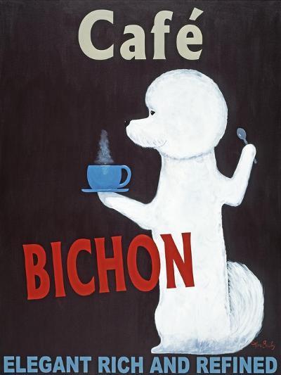 Bichon-Ken Bailey-Premium Giclee Print