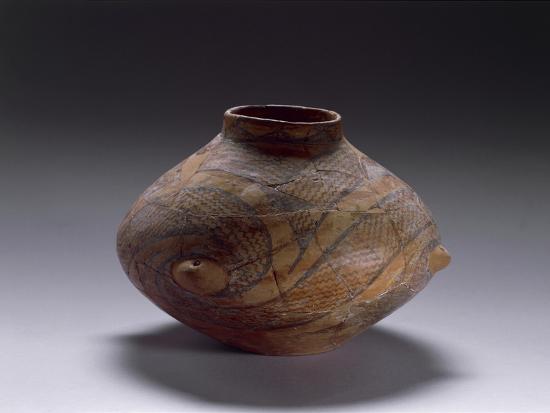 Biconical Ceramic Vase, from Kamniku, Albania--Giclee Print